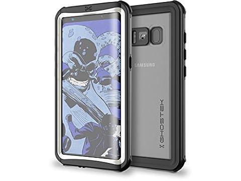 Galaxy S8étui étanche, Ghostek nautique Series pour Samsung Galaxy S8  fin Underwater Full Body protection résistant aux chocs Coque Snow-proof protégé contre la poussière de protection aventure de natation plongée