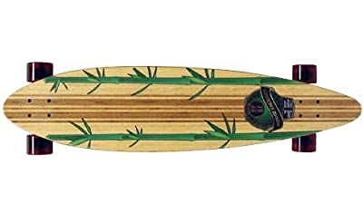 Paradise Complete Longboard Pintail Rasta Bamboo 3 41.0 x 9.75