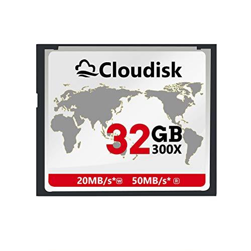Cloudisk 32GB CF-Karte Compact Flash-Speicherkarte Leistung für Fotokameras