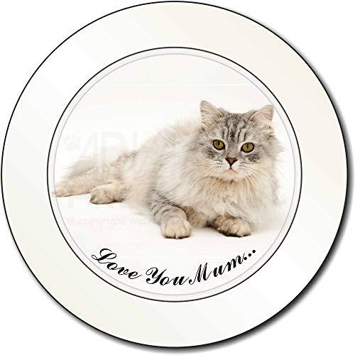 Advanta - Tax Disc Holders Chinchilla Perserkatze 'Love You Mum' AutovignetteGenehmigungsinhaber Geschenk -