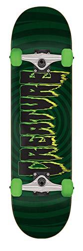 Creature Grun Hypno Logo - 8 Inch Skateboard Komplett (One Size, Grun)