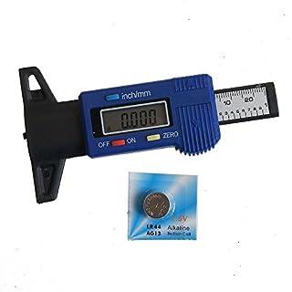 Katsu® Elektronisches Karbonfaser-Reifentiefenmesser 40141563