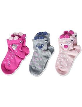 Tommy Hilfiger Baby-Mädchen Socken, 3er Pack