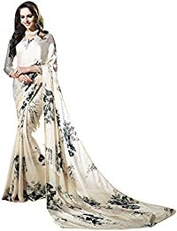 28029d0f4bb6 Aarrah Multicolor Satin and Georgette Embellished Saree  (ELLENA7013SSSR01_Multicolor)
