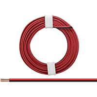Unbekannt Donau Elektronik 218–5Double Wire, rot/schwarz, 5m