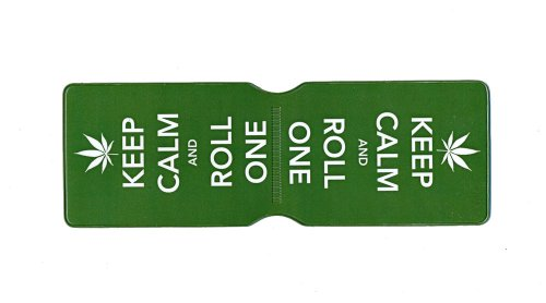 Keep Calm and Roll One Oyster Karte Halter