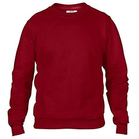 Anvil - Sweat-shirt - Moderne - Homme - rouge -