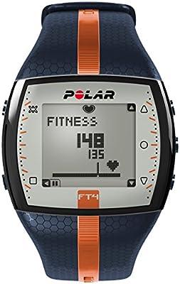 Polar FT4 - Reloj con pulsómetro e indicador de calorías consumidas para fitness y cross-training