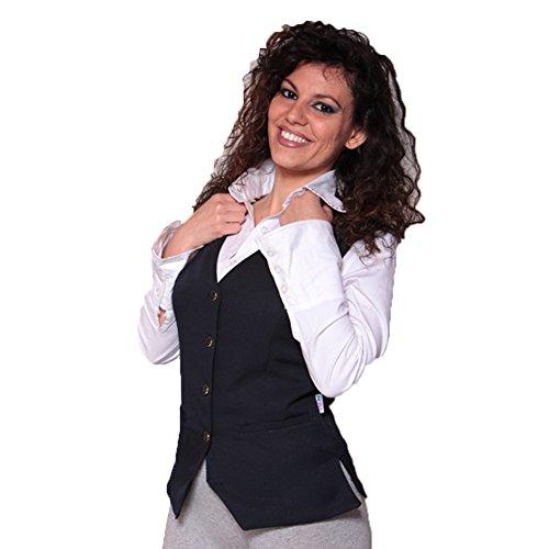 Fratelli ditalia Grembiule zip donna sala albergo hotel cameriera barista lavoro bar ristorante