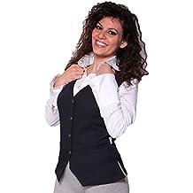 Fratelliditalia Gilet donna barista da lavoro bar ristorante sala albergo  hotel cameriera 90b4bc9bad4d