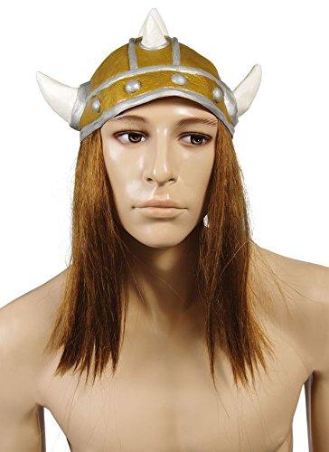 Unbekannt P 'Tit Clown–87007–Kopfhörer von Viking Weich Erwachsene–, Weiße Spitzen–Haar Glatt Brünetten–Einheitsgröße