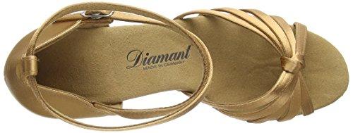 Diamant Diamant Damen Latein Tanzschuhe 109-087-087, Damen Tanzschuhe - Standard & Latein, Beige (Hautfarben), 42 EU (8 Damen UK)