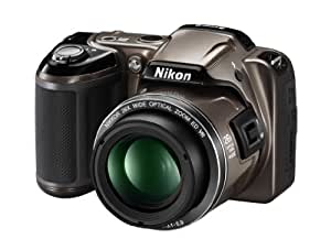 Nikon Coolpix L810 16.1MP Point-and-Shoot Digital Camera (Bronze) with 4GB Card, Camera Pouch