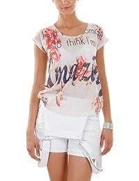 T-shirt imprimé florale