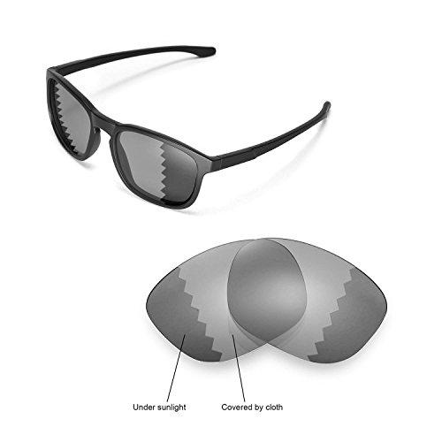 Walleva Ersatzgläser für Oakley Enduro Sonnenbrille -Mehrfache Optionen (Übergang/Photochromisch - Polarisiert)