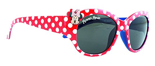 Gafas de sol Disney Minnie Mouse rojo y blanco