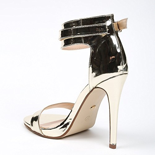 Ideal Shoes ,  Scarpe col tacco donna Oro
