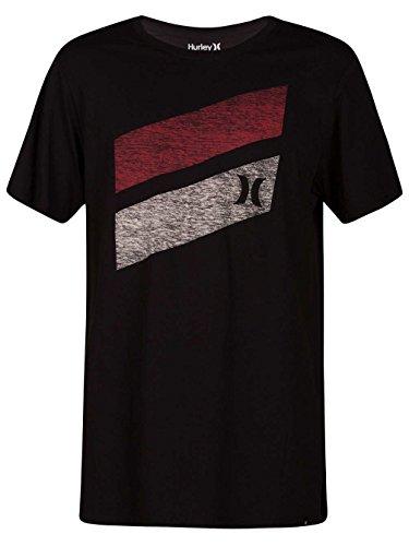 Hurley Herren T-Shirt Icon Slash Push Through T-Shirt (Hurley Icon)