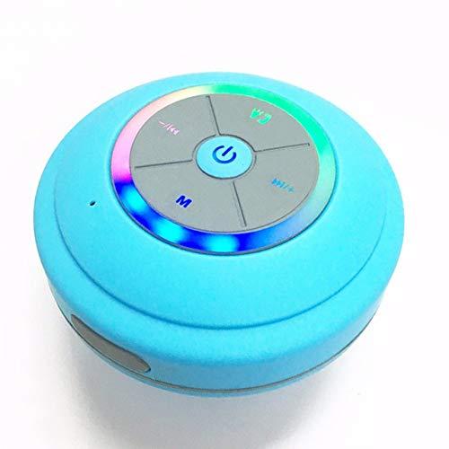 Subwoofer portátil Ducha Impermeable Inalámbrico Bluetooth Altavoz Coche Manos Libres Llamada Música...