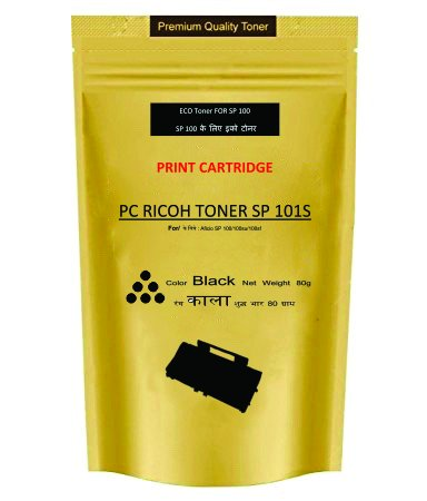 Skrill SP 101S For Ricoh Sp100, Sp105, Sp111, Sp200, Sp300 Laser Printer Toner Refill Pouch  available at amazon for Rs.375