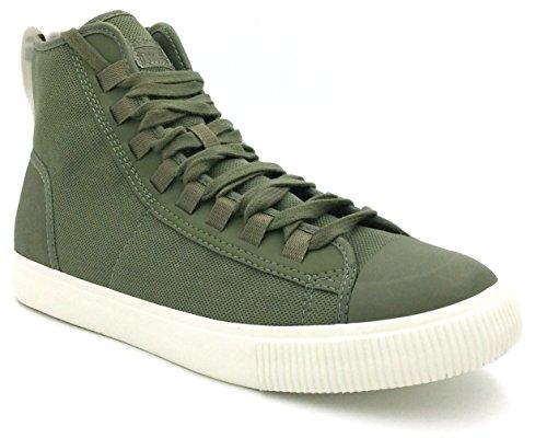 G-STAR RAW Herren Scuba II Mid Hohe Sneaker Grün (Sage 724)