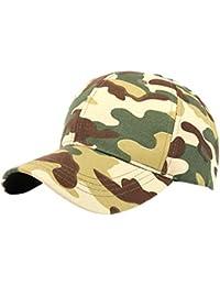 Amlaiworld Gorras Deportiva táctica al Aire Libre del Camuflaje Hombre  Mujer Sombrero de Gorra de béisbol Niños 8002466bf10