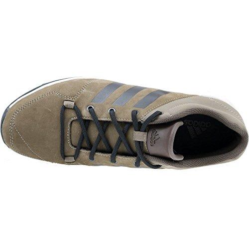 adidas Herren Daroga Plus Lea Wanderschuhe Gris (Comgri / Negbas / Talco)