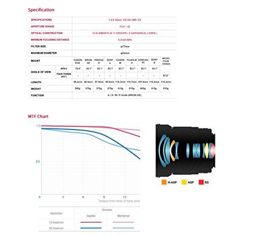 Samyang 16mm F2.0 Objektiv Canon EF - 6