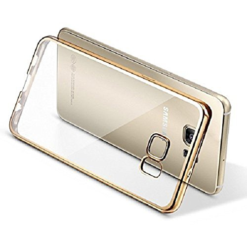 ZEDAK BACK COVER FOR SAMSUNG GALAXY J7 PRIME / SAMSUNG GALAXY ON NXT-GOLD