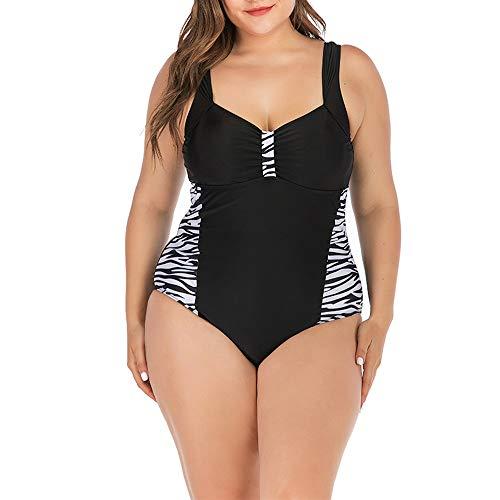 Mibuy Bikinis Mujer Push Up Braga Alta, 2020 Mujer Tankini Talla Grande Traje De Baño Una Pieza Bañador...