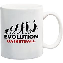 Evolución de baloncesto taza regalo present