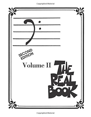 The real book - volume II (2nd ed.) basson, trombone, violoncelle ou basse