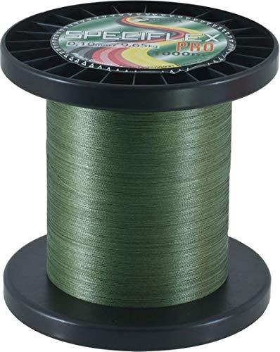 Sänger Top Tackle Systems Speciflex Pro Olivgrün (1000m) - eng Geflochtene High-Tech-Schnur, Durchmesser:0.10mm - Sänger Schnur