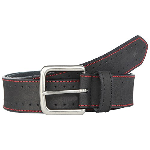 Fastrack Mens Leather Buckle Closure Casual Belt