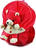 #4: Click4deal Soft Stuffed Bag for Nursery Kids (Best for New Joining School Kids) (Pink Bag)