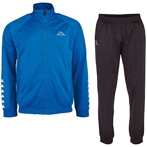 Kappa Herren Trainingsanzug Till Tracksuit, Blue Aster, M