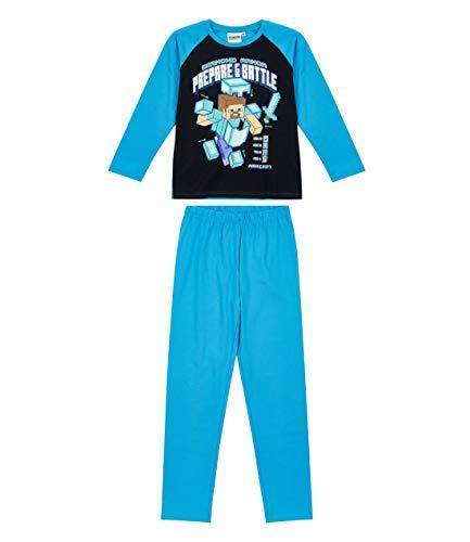 Minecraft Pyjama blau (146)