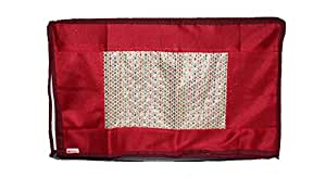 "Fanto Cover L.C.D. TV Cover Cotton Blend For 32"" LCD TV, 32"" x 16"" - RED"