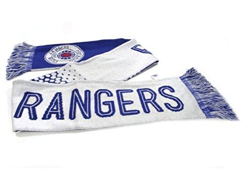 Glasgow Rangers Jacquard bufanda de punto