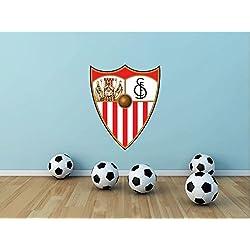 Sevilla FC Spain Soccer Football Sport Home Decor Art Wall Vinyl Sticker 63 x 50 cm