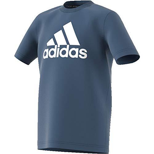 adidas Jungen Must Haves Badge of Sport T-Shirt, Tech Ink/White, 140