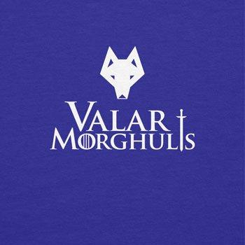 Texlab Got: Valar Morghulis - Herren Langarm T-Shirt Marine