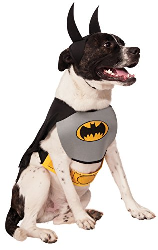 Rubie 's Offizielles Pet Dog Batman, Hund (Kostüm Medium Batman)