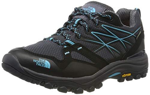 The North Face Hedgehog Fastpack Gore-Tex, Stivali da Escursionismo Donna, Nero (Blackend Pearl/Meridian Blue 8KX), 40 EU