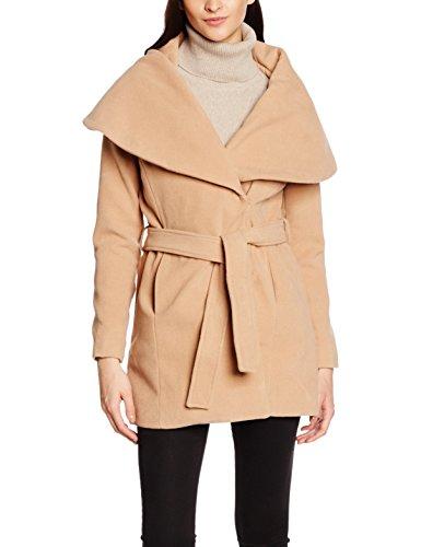LTB Jeans Damen Mantel Nocigo Coat, Braun (Camel 703), 38 (Herstellergröße 8d68490116