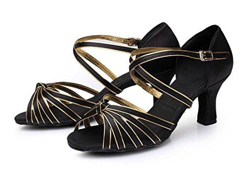 TDA - Strap alla caviglia donna 7cm Black Gold