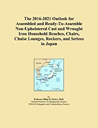 The 2016-2021 Outlook for Assembled and Ready-To-Assemble Non-Upholstered Cast and Wrought Iron Household Benches, Chairs, Chaise Lounges, Rockers, and Settees in Japan