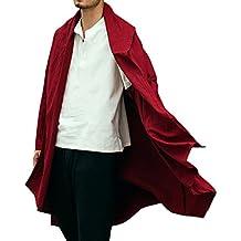 Honghu Abrigo largo para Hombre Un tamaño