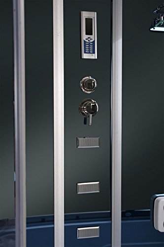 Dampfdusche Duschkabine Badewanne Glasdusche Sauna 3in1 LXW-JS613 - 5