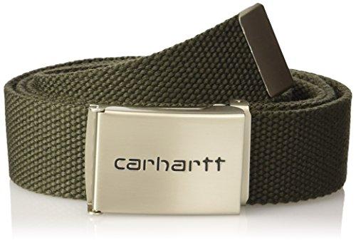 carhartt-clip-chrome-belt-green-cypress-one-size